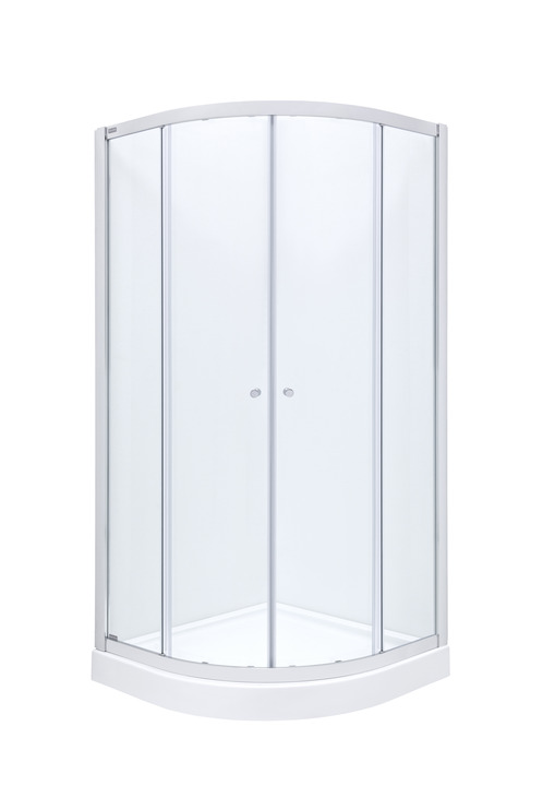City-N Rondo Shower enclosure in chrome 90*90, Roca AMP0109012